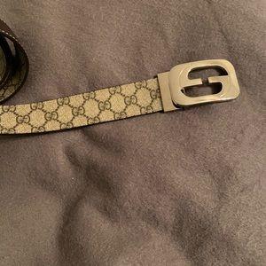 Mens gucci authentic belt ! size 38